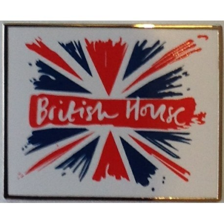 Rio 2016 Official British House Pin Badge