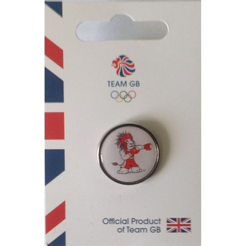Rio 2016 Team GB Pride Boxing Pin Badge